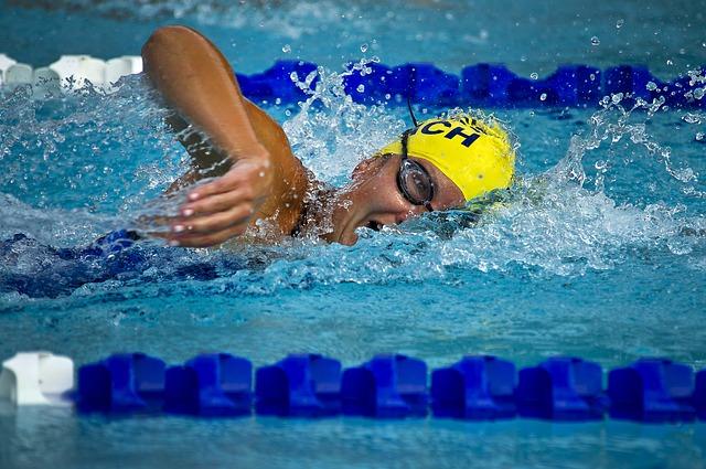 závodník v plavání