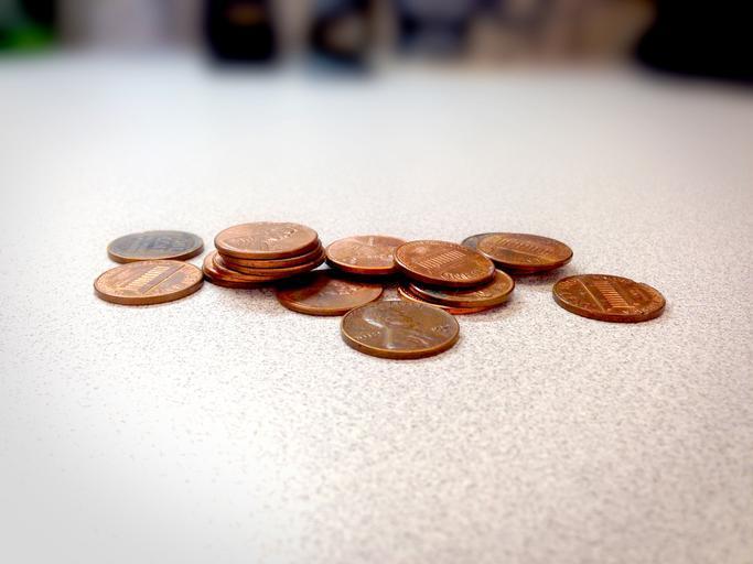 ležící penny