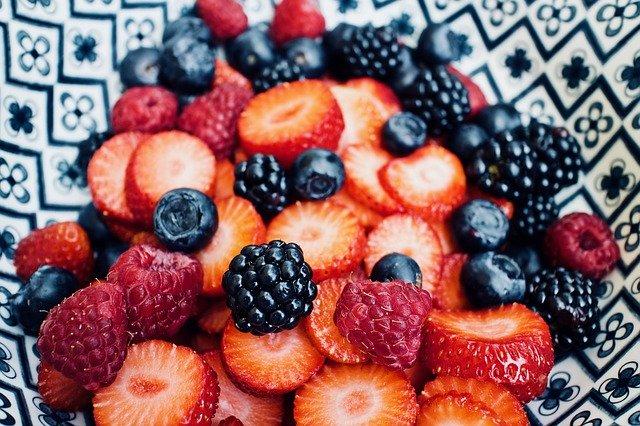 směs lesního ovoce