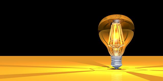 žárovka s velkou baňkou