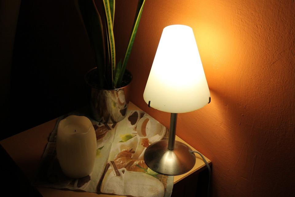 svítící lampička